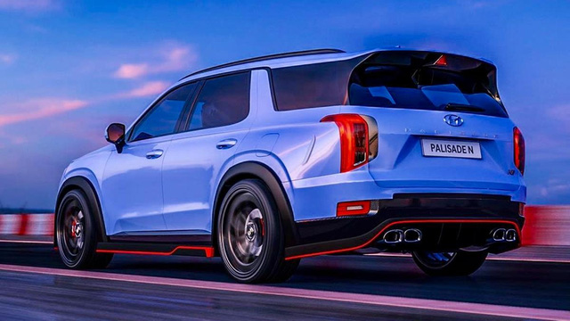Hyundai Palisade - SUV nhấp nhổm về Việt Nam sắp có bản thể thao N Line - Ảnh 2.