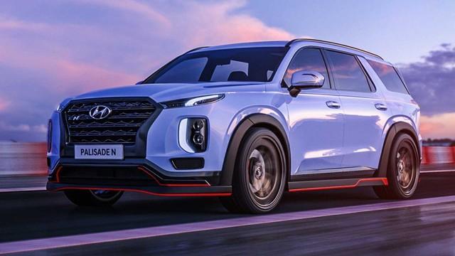 Hyundai Palisade - SUV nhấp nhổm về Việt Nam sắp có bản thể thao N Line - Ảnh 1.