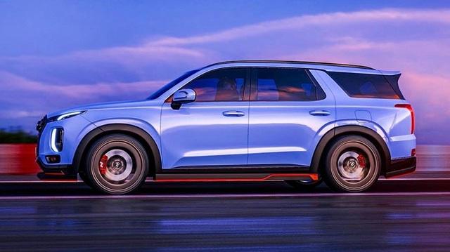 Hyundai Palisade - SUV nhấp nhổm về Việt Nam sắp có bản thể thao N Line