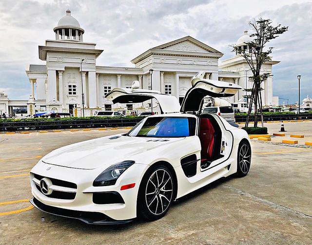 Mercedes-AMG SLS lạ lẫm về Việt Nam ăn Tết với bộ bodykit gây chú ý, dân tình vẫn tò mò về nguồn gốc siêu xe - Ảnh 3.