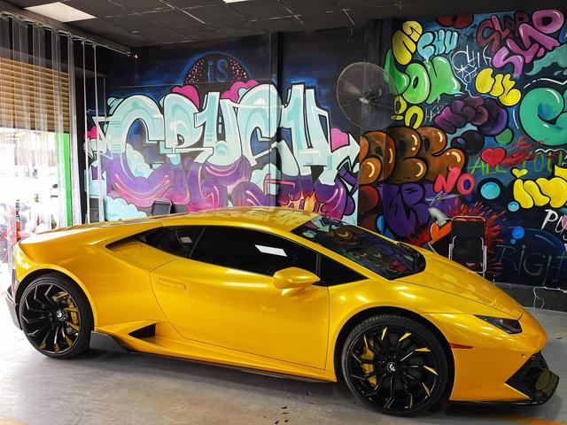 Lamborghini Huracan độ khủng nhất Việt Nam 'tái xuất' với diện mạo mới