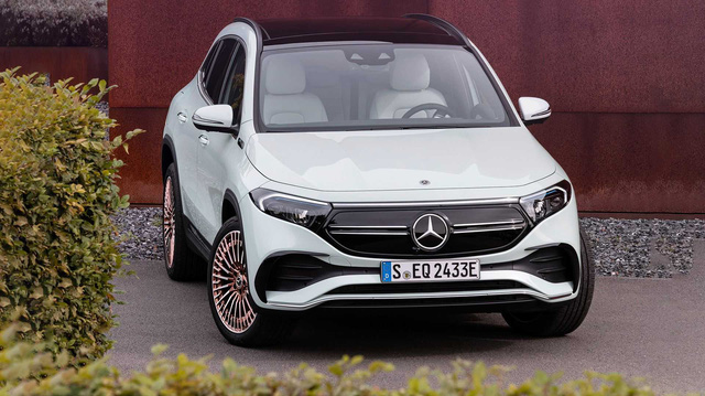 Ra mắt EQA - SUV điện nhỏ nhất, rẻ nhất của Mercedes-Benz, chung khung gầm GLA