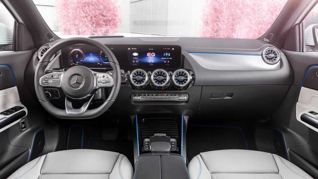 Ra mắt EQA - SUV điện nhỏ nhất, rẻ nhất của Mercedes-Benz, chung khung gầm GLA - Ảnh 4.