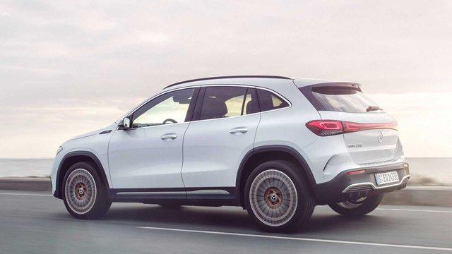 Ra mắt EQA - SUV điện nhỏ nhất, rẻ nhất của Mercedes-Benz, chung khung gầm GLA - Ảnh 7.