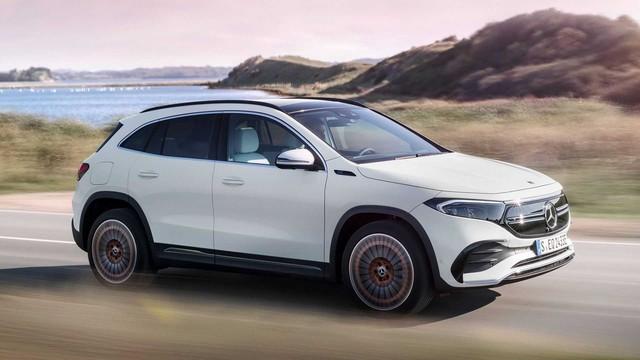 Ra mắt EQA - SUV điện nhỏ nhất, rẻ nhất của Mercedes-Benz, chung khung gầm GLA - Ảnh 2.