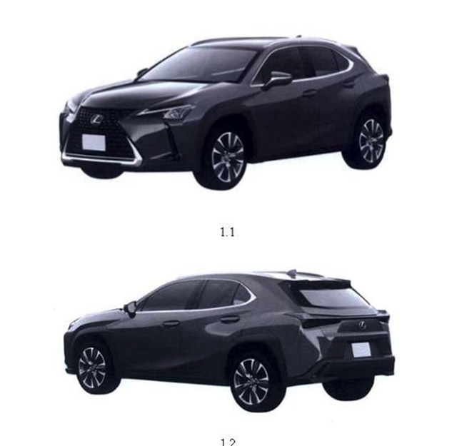 Lộ Lexus UX đăng ký bản quyền tại Việt Nam: Crossover hạng sang đấu Mercedes GLA, BMW X1 và Audi Q3 - Ảnh 1.