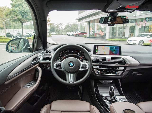 BMW X3 M Sport 2021 về đại lý: Giá gần 3 tỷ, thêm 12 trang bị mới, đấu Mercedes-Benz GLC 300 - Ảnh 3.