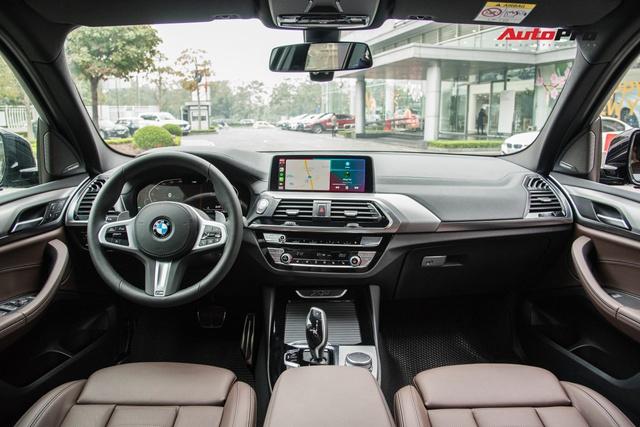 BMW X3 M Sport 2021 về đại lý: Giá gần 3 tỷ, thêm 12 trang bị mới, đấu Mercedes-Benz GLC 300 - Ảnh 9.