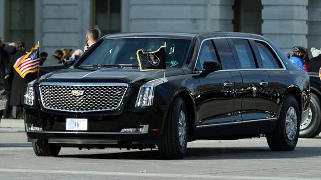 Joe Biden thay đổi chi tiết đầu tiên trên quái thú Cadillac - Ảnh 3.