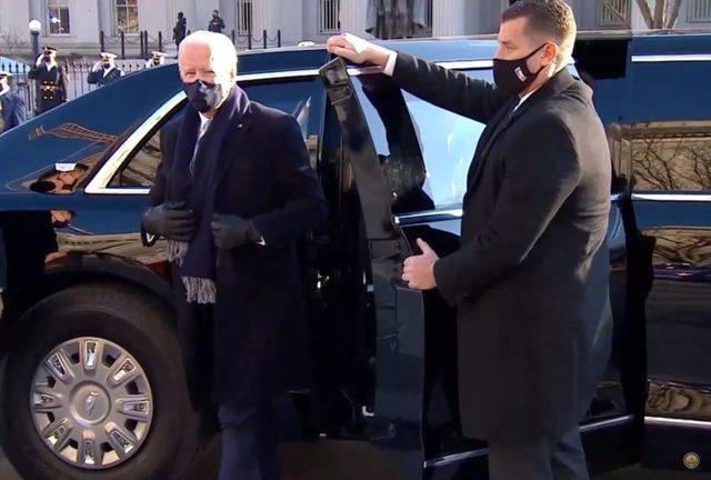 Joe Biden thay đổi chi tiết đầu tiên trên quái thú Cadillac - Ảnh 4.
