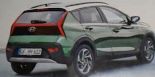 SUV đô thị Hyundai Bayon lộ ảnh không che trước ngày ra mắt: Trông như tiểu Tucson, đấu Kia Sonet sắp về Việt Nam - Ảnh 2.