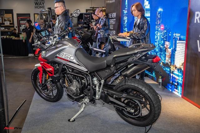 Triumph Tiger 850 Sport giá 360 triệu đồng tại Việt Nam - Thách thức Ducati và BMW Motorrad - Ảnh 3.