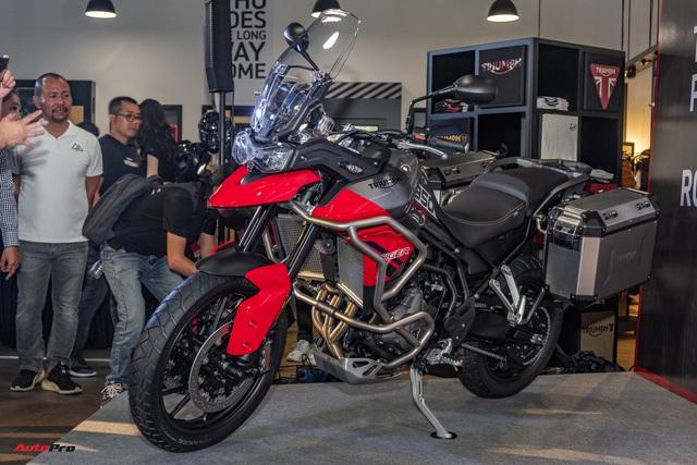 Triumph Tiger 850 Sport giá 360 triệu đồng tại Việt Nam - Thách thức Ducati và BMW Motorrad - Ảnh 1.