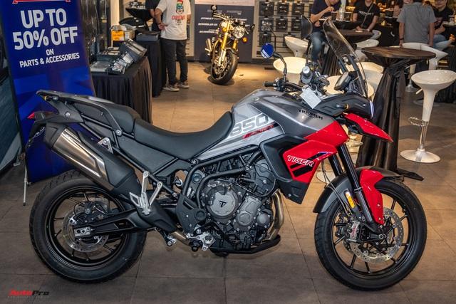 Triumph Tiger 850 Sport giá 360 triệu đồng tại Việt Nam - Thách thức Ducati và BMW Motorrad - Ảnh 2.