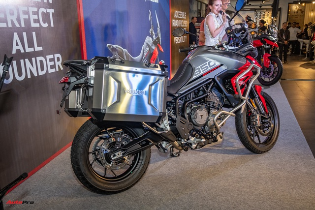 Triumph Tiger 850 Sport giá 360 triệu đồng tại Việt Nam - Thách thức Ducati và BMW Motorrad - Ảnh 12.