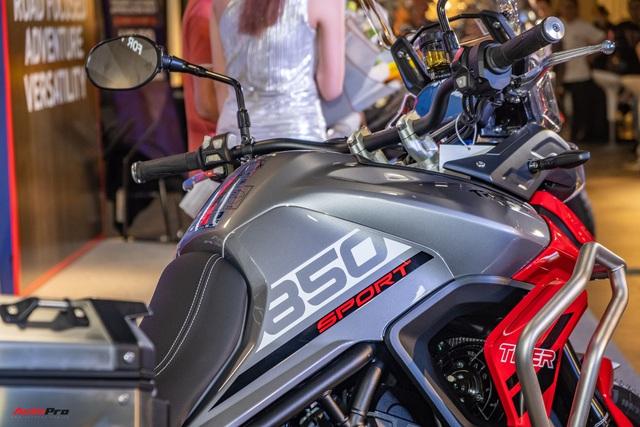 Triumph Tiger 850 Sport giá 360 triệu đồng tại Việt Nam - Thách thức Ducati và BMW Motorrad - Ảnh 8.