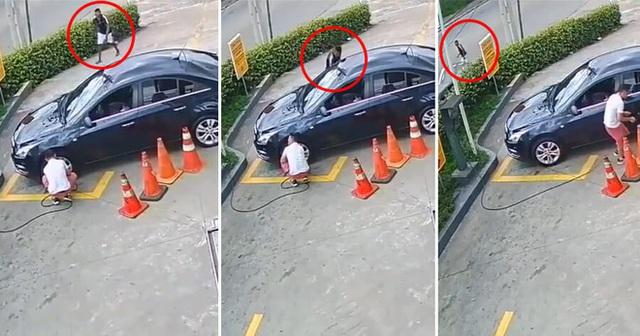 Quên làm 2 việc, chủ xe mất hết của vẫn không biết gì trong khi kẻ trộm đàng hoàng bước đi - Ảnh 2.