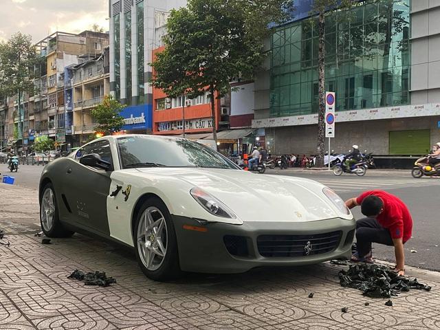 Hậu chia tay ông Đặng Lê Nguyên Vũ, Ferrari 599 GTB Fiorano độc nhất Việt Nam nâng cấp ống xả mới - Ảnh 4.