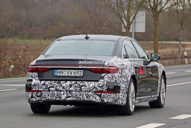 Audi A8 2022 lần đầu lộ diện, nhiều khả năng có phiên bản riêng đấu Mercedes-Maybach - Ảnh 3.