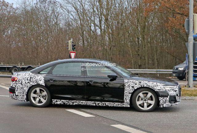 Audi A8 2022 lần đầu lộ diện, nhiều khả năng có phiên bản riêng đấu Mercedes-Maybach - Ảnh 4.
