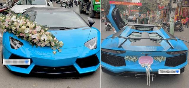 Chiec sieu xe Lamborghini mui tran dau tien ve Viet Nam hien ra sao