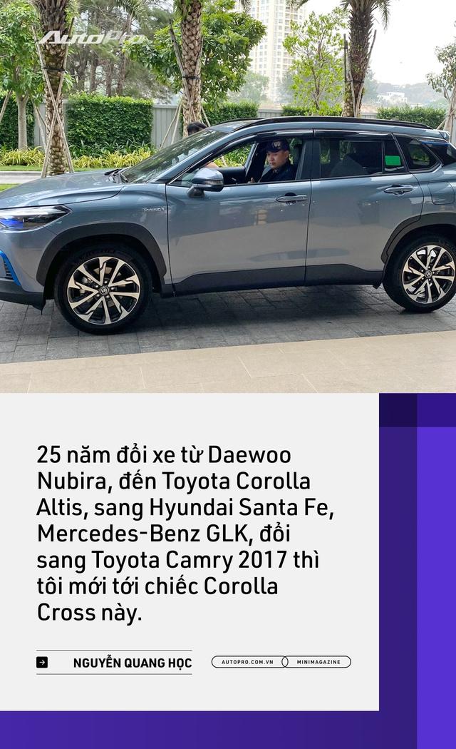 Những kiểu khách chốt đơn Toyota Corolla Cross sau 1 năm bán tại Việt Nam: Người bỏ Mercedes, người mua chỉ vì thương hiệu - Ảnh 6.
