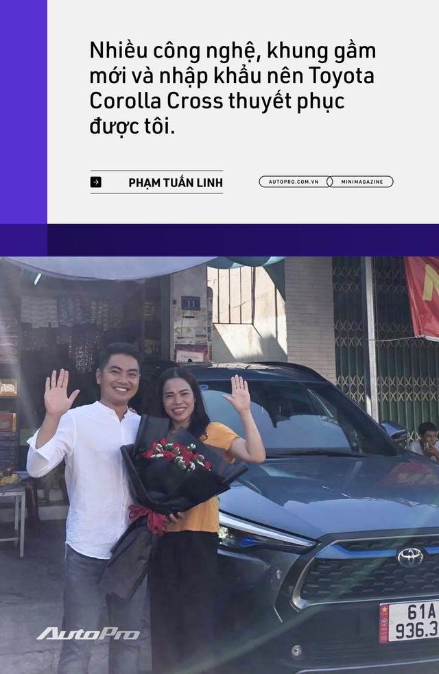 Những kiểu khách chốt đơn Toyota Corolla Cross sau 1 năm bán tại Việt Nam: Người bỏ Mercedes, người mua chỉ vì thương hiệu - Ảnh 9.