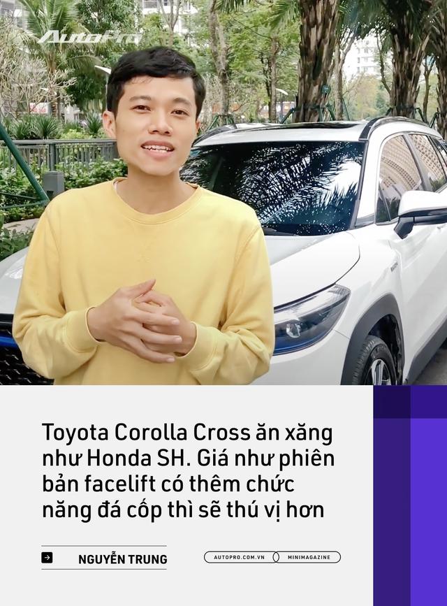Những kiểu khách chốt đơn Toyota Corolla Cross sau 1 năm bán tại Việt Nam: Người bỏ Mercedes, người mua chỉ vì thương hiệu - Ảnh 21.