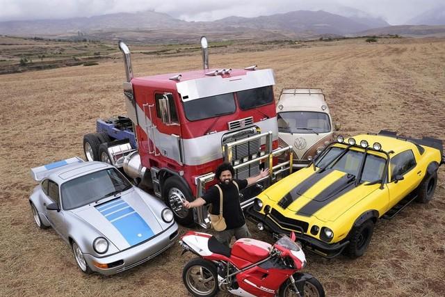 Đây là dàn xe sẽ xuất hiện trong bom tấn Transformers: Rise of the Beasts mới - Ảnh 1.