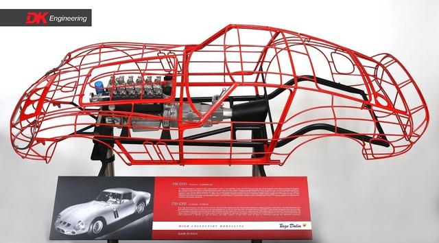 Thú chơi mô hình động cơ, khung xe Ferrari giá ngang xe Toyota, Ford phổ thông của giới nhà giàu - Ảnh 5.