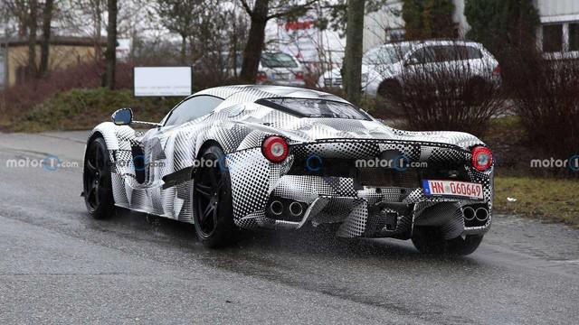 Siêu xe Ferrari mới kế thừa LaFerrari được xác nhận ra mắt ngay năm nay với hộp số hoài cổ - Ảnh 5.