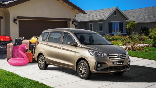 Ra mắt Toyota Rumion - Suzuki Ertiga gắn logo Toyota có giá quy đổi từ 370 triệu đồng - Ảnh 1.