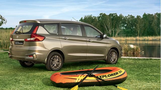 Ra mắt Toyota Rumion - Suzuki Ertiga gắn logo Toyota có giá quy đổi từ 370 triệu đồng - Ảnh 2.