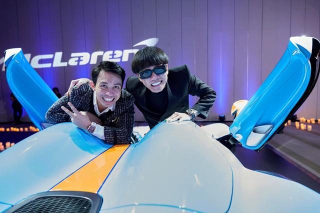 Từ lời rap Mercedes màu xanh, rapper Wowy được cưỡi McLaren Elva màu xanh triệu đô cùng Minh Nhựa - Ảnh 1.