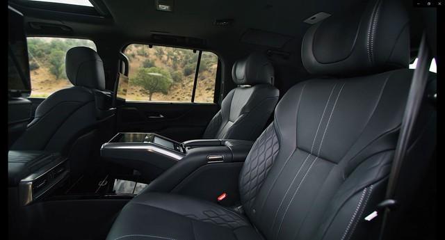 Ra mắt Lexus LX 600 thế hệ mới: Lột xác từ ngoài vào trong, phiên bản siêu sang cạnh tranh Mercedes-Maybach GLS 600 - Ảnh 8.