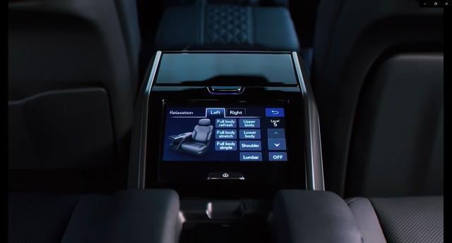 Ra mắt Lexus LX 600 thế hệ mới: Lột xác từ ngoài vào trong, phiên bản siêu sang cạnh tranh Mercedes-Maybach GLS 600 - Ảnh 12.