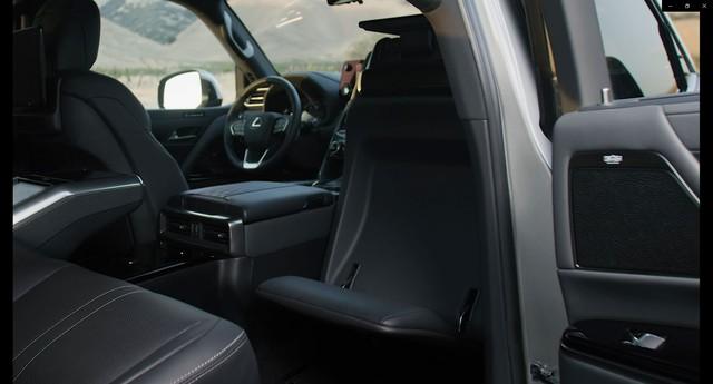 Ra mắt Lexus LX 600 thế hệ mới: Lột xác từ ngoài vào trong, phiên bản siêu sang cạnh tranh Mercedes-Maybach GLS 600 - Ảnh 13.