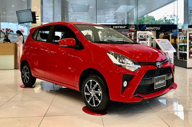 Toyota Wigo khuyến mại gần 50 triệu đồng tại đại lý, quyết đuổi Kia Morning sau khi tụt lại phía sau - Ảnh 1.