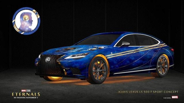 Khi Lexus hóa thân thành các Eternals nhà Marvel: LX 570 là nhân vật mạnh nhất