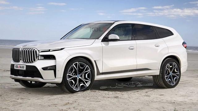 BMW X8 lại khiến dân tình chao đảo khi lộ diện trên đường: To như Rolls-Royce Cullinan, mặt trước có điểm giống Hyundai Santa Fe - Ảnh 1.