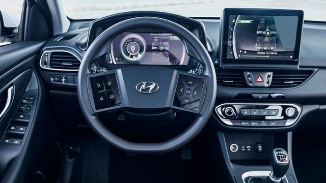 Hyundai tích hợp màn hình lớn vào vô-lăng, cách đánh lái là điều gây tò mò - Ảnh 2.