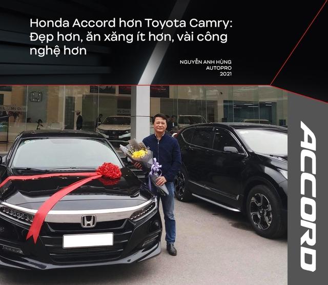 Bỏ Mercedes-Benz C 250 mua Honda Accord, người dùng đánh giá: Nhiều thứ 'ăn đứt' Camry nhưng điểm yếu này khiến xe ế ẩm - Ảnh 2.