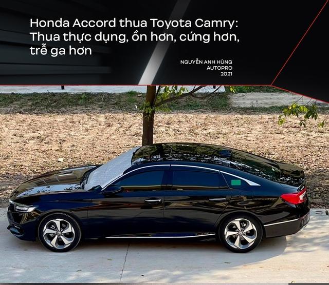 Bỏ Mercedes-Benz C 250 mua Honda Accord, người dùng đánh giá: Nhiều thứ 'ăn đứt' Camry nhưng điểm yếu này khiến xe ế ẩm - Ảnh 3.