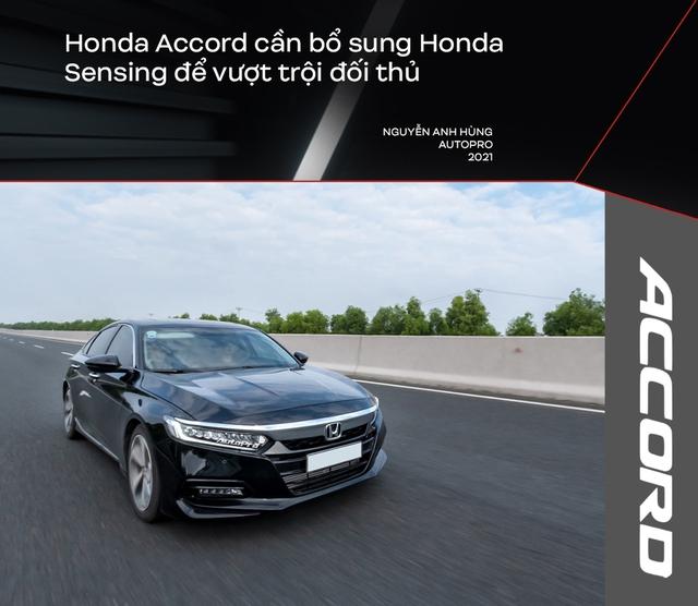 Bỏ Mercedes-Benz C 250 mua Honda Accord, người dùng đánh giá: Nhiều thứ 'ăn đứt' Camry nhưng điểm yếu này khiến xe ế ẩm - Ảnh 5.