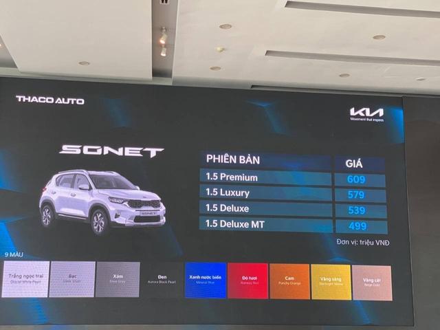 Kia Sonet đắt hay rẻ: Đây là khác biệt giữa 4 phiên bản chênh nhau 110 triệu đồng tại Việt Nam - Ảnh 1.