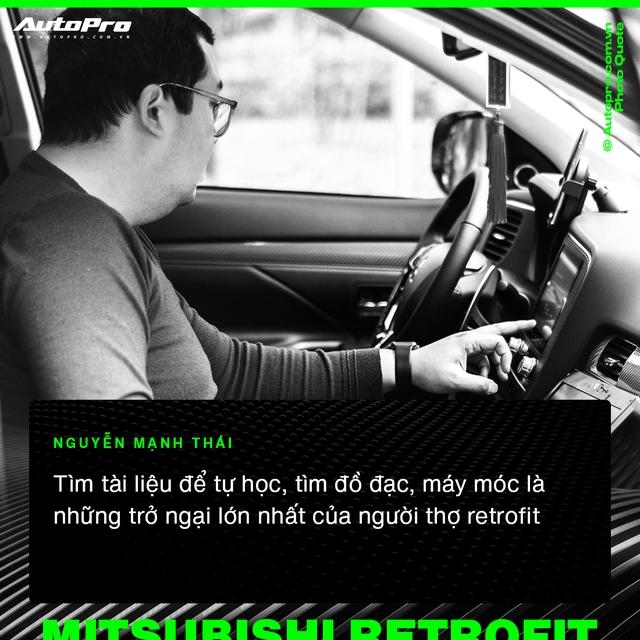 Mạnh Thái - Từ 'thợ vườn' bị khách giám sát 7 tiếng vì sợ hỏng xe tới chuyên gia biến hoá xe Mitsubishi tại Việt Nam - Ảnh 4.