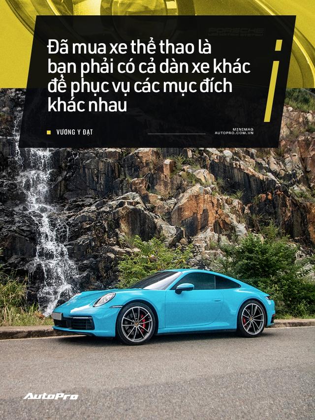 Chủ xe Nha Trang kể chuyện mua Porsche 911 Carrera S: 'Mua xe 10 tỷ mà chỉ nhìn qua giấy, giật mình với những option bằng cả chiếc Kia' - Ảnh 18.
