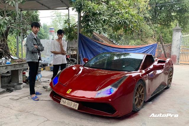 2k Quảng Ninh tự chế siêu xe mô phỏng Ferrari 488 GTB: Mất 4 tháng vừa làm vừa tưởng tượng, đập đi dựng lại nhiều lần, tốn hơn 100 triệu đồng - Ảnh 7.