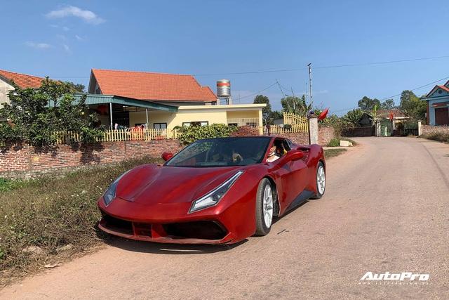 2k Quảng Ninh tự chế siêu xe mô phỏng Ferrari 488 GTB: Mất 4 tháng vừa làm vừa tưởng tượng, đập đi dựng lại nhiều lần, tốn hơn 100 triệu đồng - Ảnh 4.