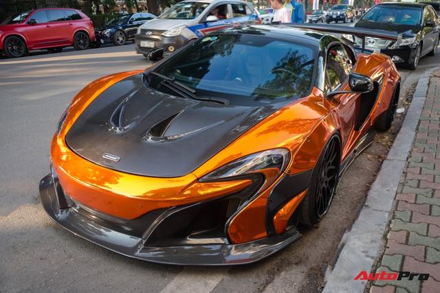 Dàn siêu xe khủng xuống phố Hà Nội đón Tết: McLaren 650S Spider màu dị của Dương Kon và cặp đôi Lamborghini Aventador SVJ gây chú ý - Ảnh 12.